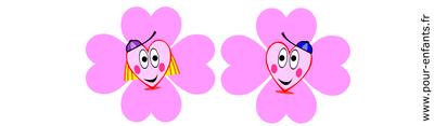 Imprimer dessins de coeurs illustrations images pour créer calendriers