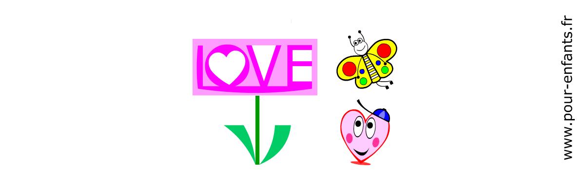Imprimer le calendrier de février 2015 Saint Valentin